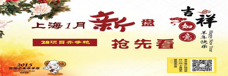 2015开年上海1月开盘抢先看 28项目齐争艳