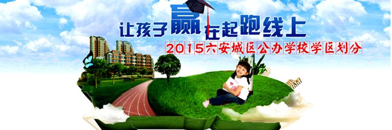 2015六安城区义务教育阶段公办学校学区划分