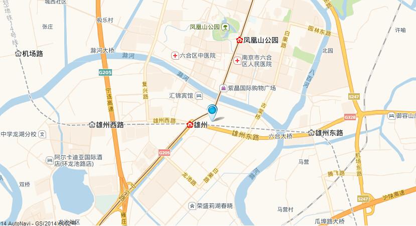 东泰G15地块交通图