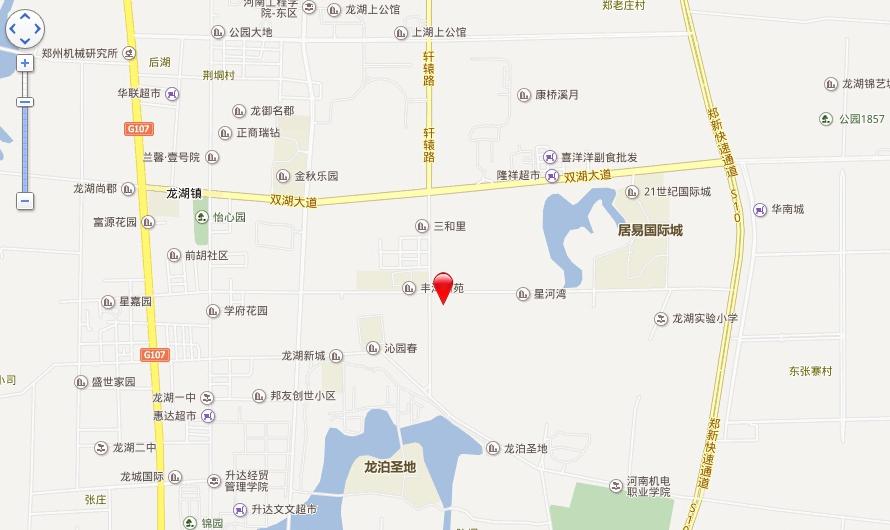 康桥溪棠交通图