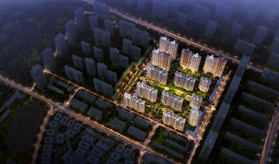 阳光100国际新城楼号图