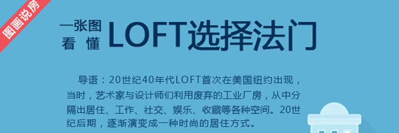星空图话: 一张图看懂时尚LOFT选择法则