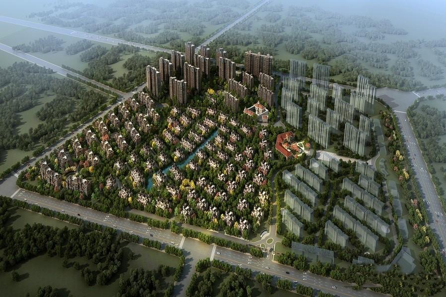 北江锦城楼号图