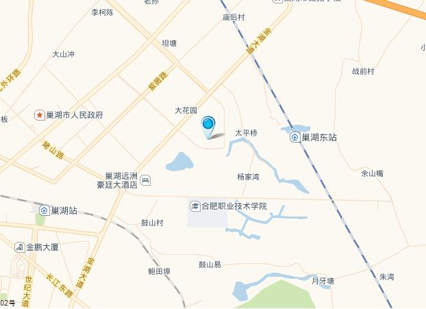丽晶华庭交通图