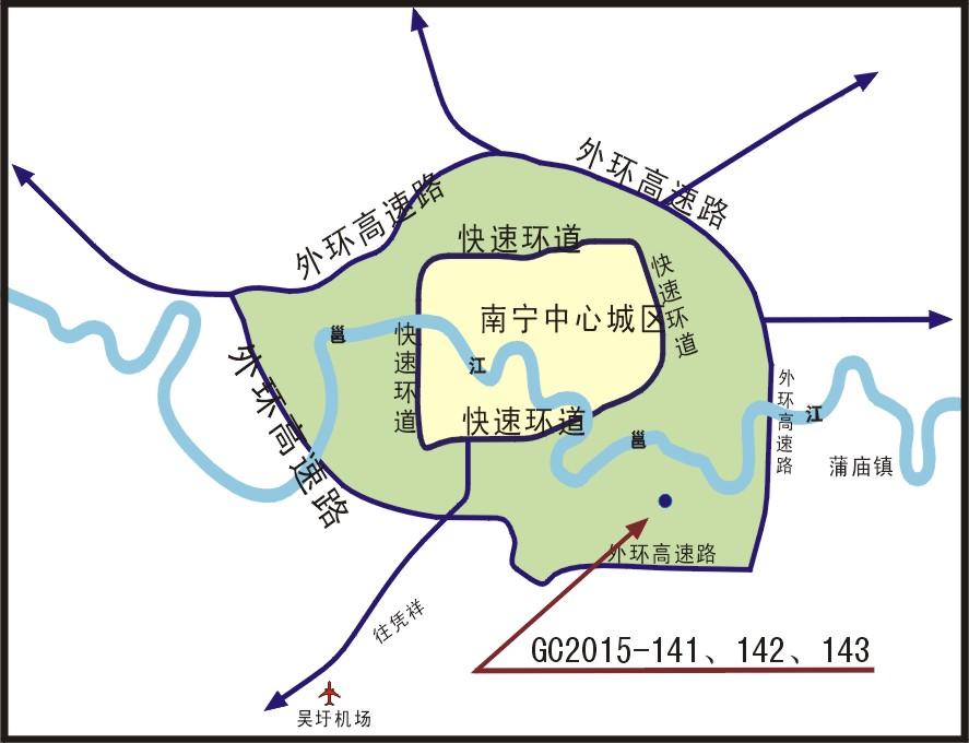 【预告】9月16日五象新区192亩地块挂牌出让