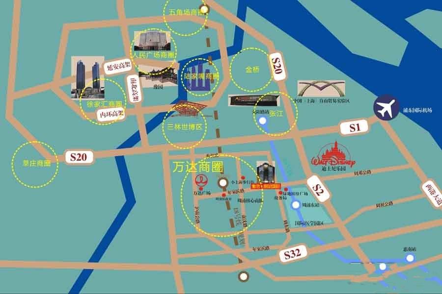 富屹新城国际交通图