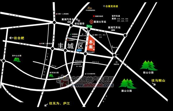 万锦·缇香郡(万锦国际二期)交通图