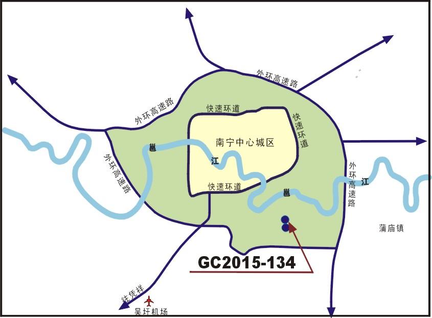 【预告】9日五象466亩地出让 低*116万元/亩