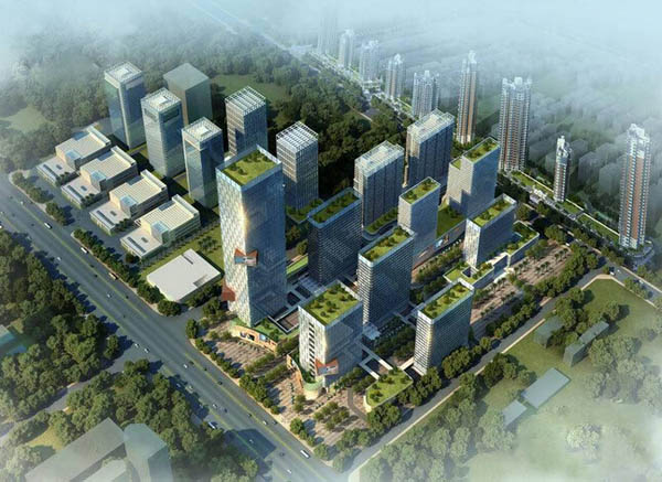 聚仁国际楼号图