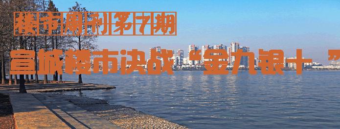 """楼市周刊第7期: 宣城楼市决战""""金九银十 """""""