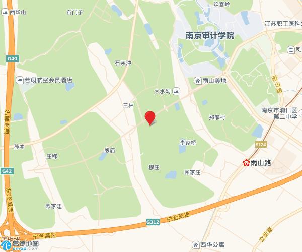 中交锦蘭荟交通图