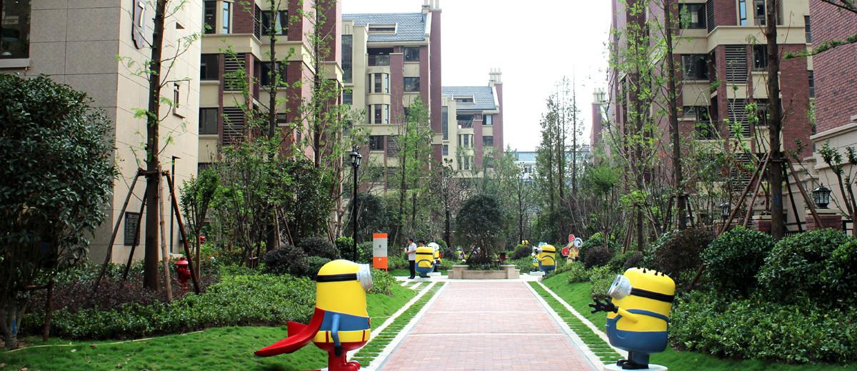 走进柏庄春暖花开低密度绿色园林社区