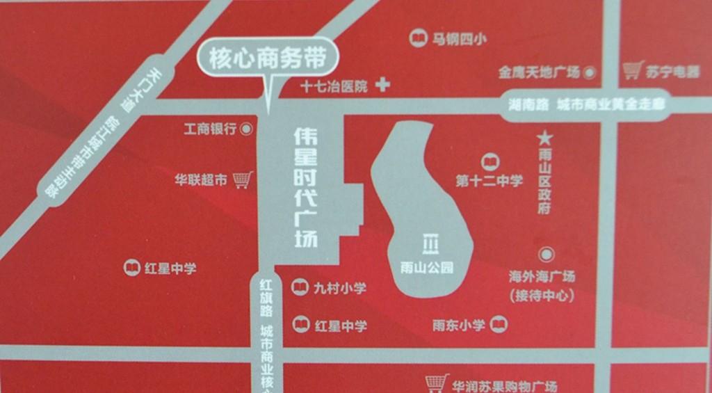 伟星时代广场交通图