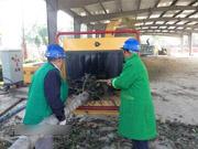宿州园林绿化废弃物处理厂正式运行 落址沱河路