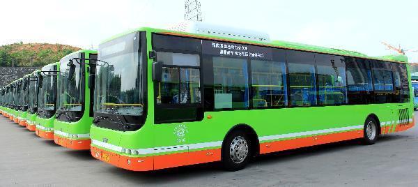 南宁将建50个公交充电桩 增加混合动力公交量