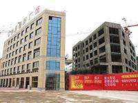 银通国际:10月工程进度  新售楼部投入使用