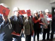 宿州人民路12#地保障房10.18邀业主参加质量评比