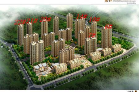 尚城国际楼号图