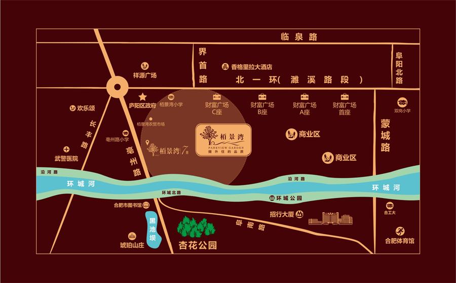 栢景湾7期交通图