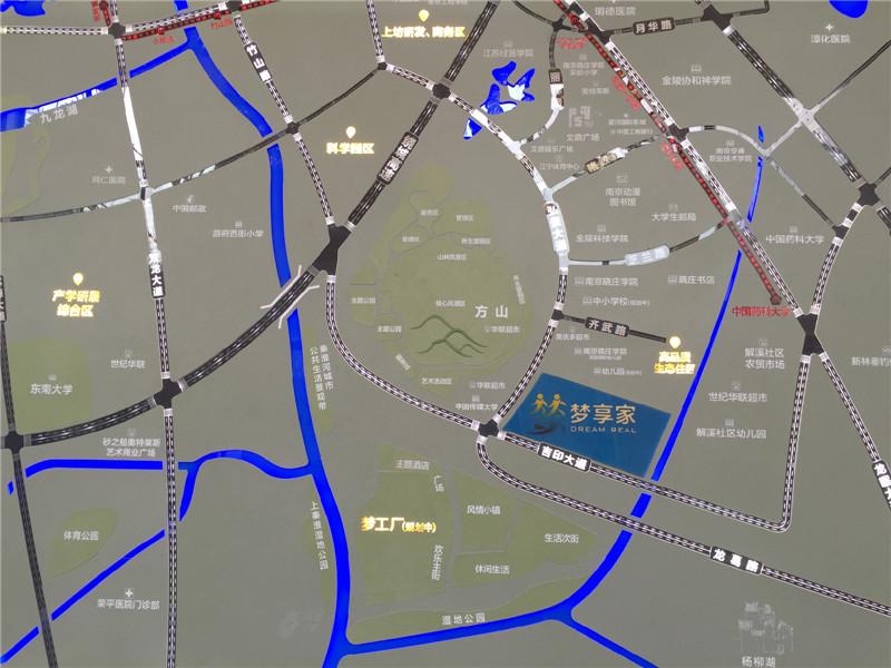 世茂梦享家交通图