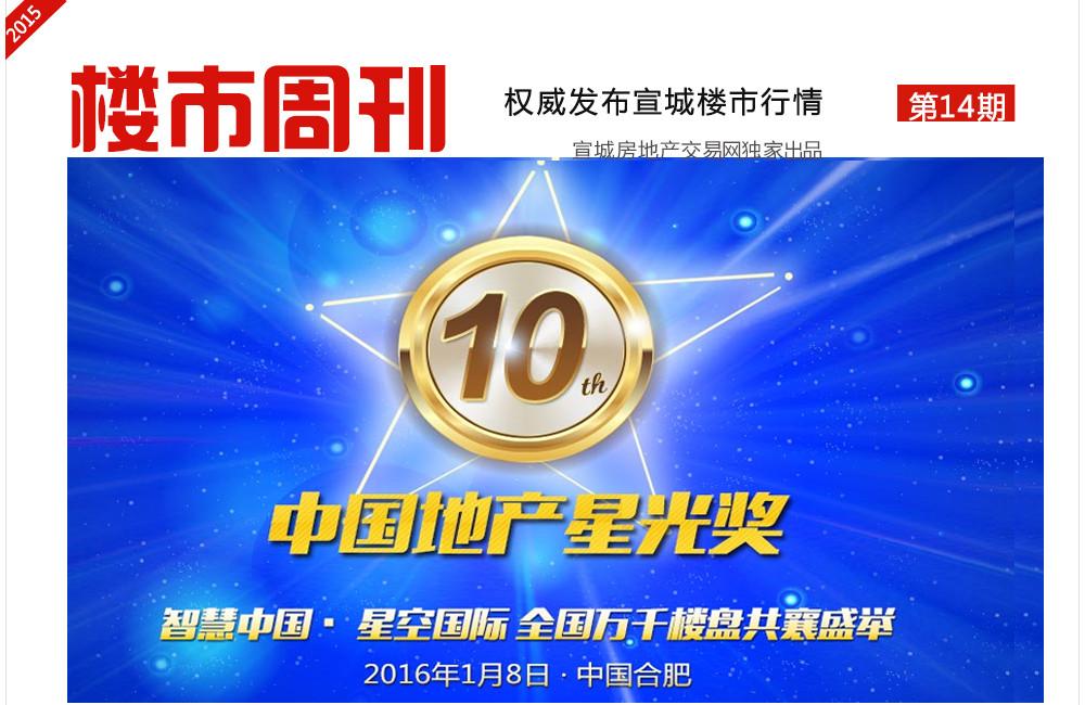 楼市周刊第14期:第十届地产星光奖已获赞3万+