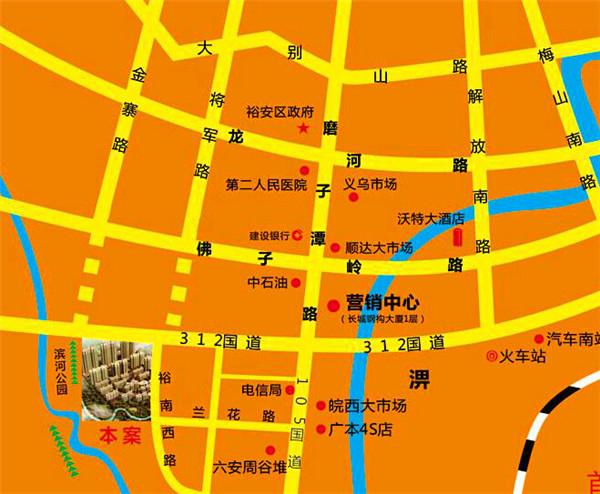 首建一品铭城交通图