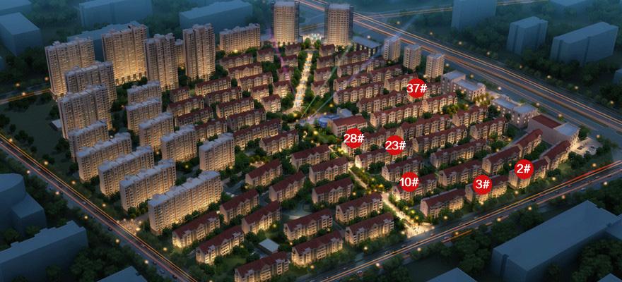 晟地绿园楼号图