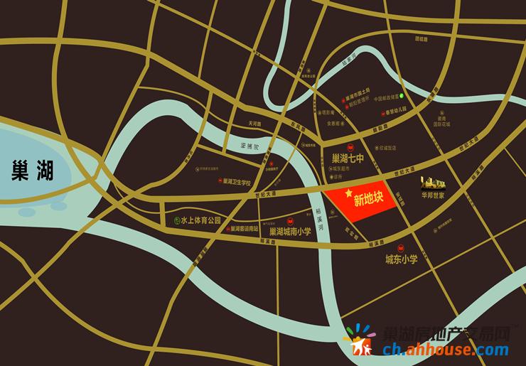 华邦·书香里交通图