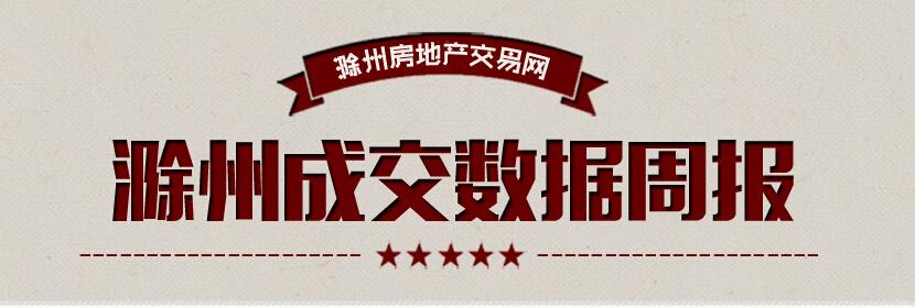 滁州楼市48周:宅销607套 环比上涨12.09%