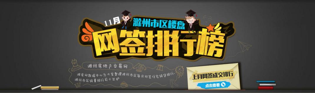 滁州楼市11月网签排名:凯迪塞纳河畔夺冠