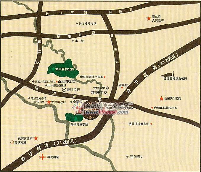 华盛BBB交通图