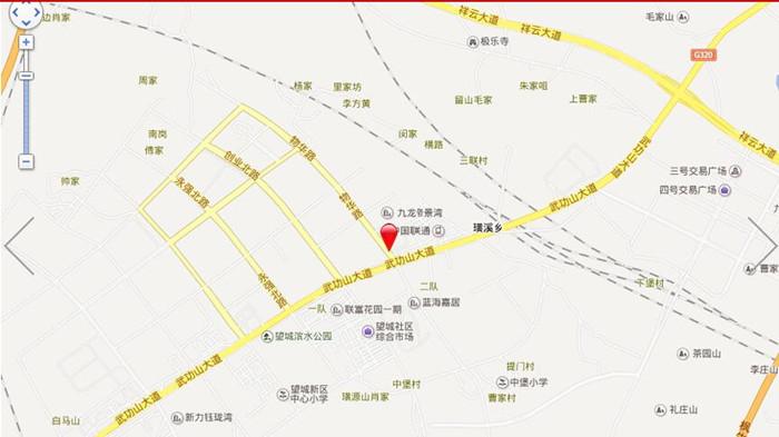 容州港九城交通图