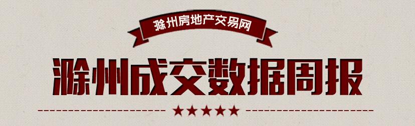 滁州楼市50周:宅销727套 环比下降7.51%