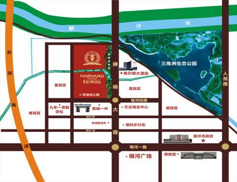 万成·哈佛国际交通图