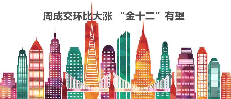 """12月*周周成交大涨 """"金十二""""有望"""