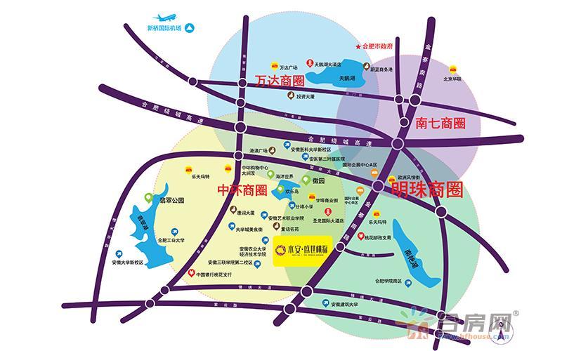 多安公寓交通图