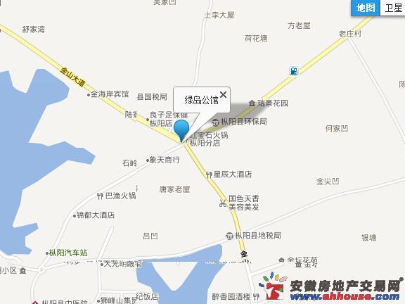 绿岛公馆交通图