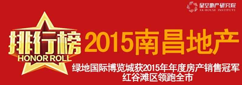 2015年度南昌楼市排行榜 绿地国际博览城夺*