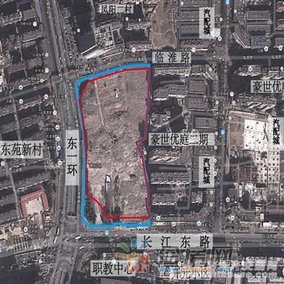 东环中心交通图