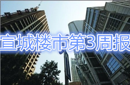 宣城楼市第3周报:市区宅备44套 即将进入节前冬歇期