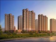 盛晟阳光城一月工程进度 小区内部基本完工