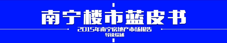 2015年楼市蓝皮书——南宁房地产市场报告
