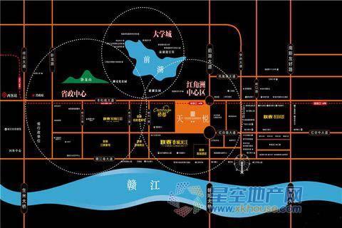 联泰天悦交通图