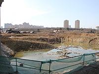 圣联锦城:2月进度   4#楼地基已经建成