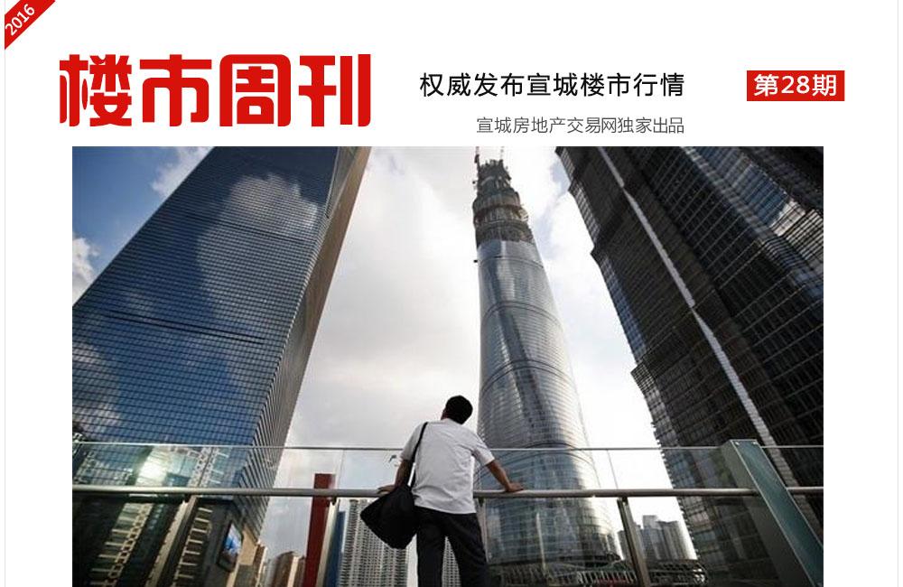 楼市周刊第28期:宣城购房首付下调刺激显滞后