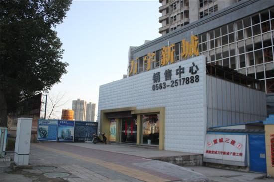 万宇新城:2月工程进度 小区正进行绿化铺设