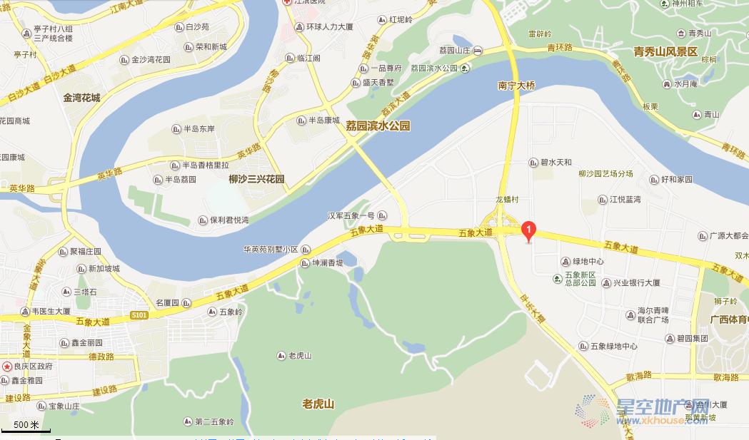 龙光国际交通图