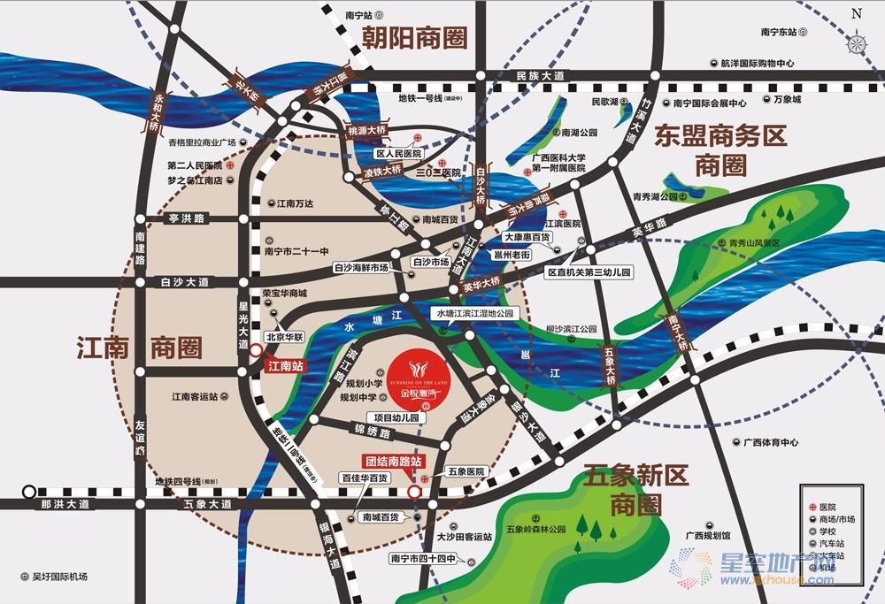 金悦澜湾交通图
