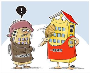 业内人士:房地产市场已现四不均情形