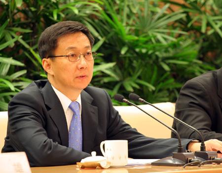 韩正:上海房地产出现非理性过热 必须加强调控